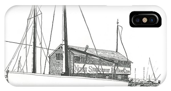 Red Bank Boat Club IPhone Case