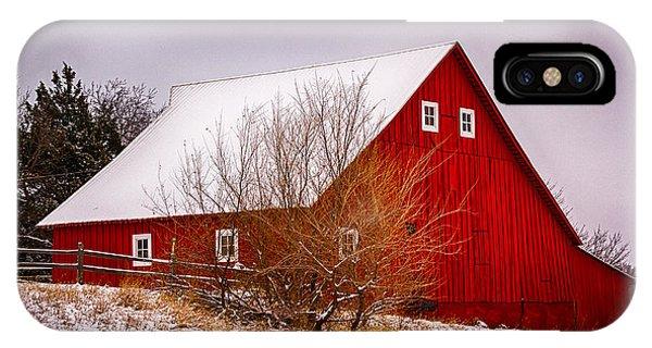 Red Barn II IPhone Case