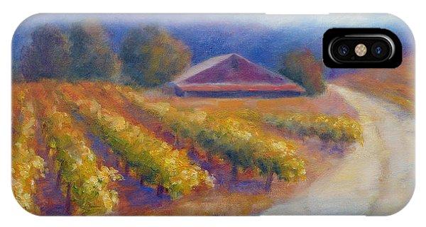 Red Barn Vineyard IPhone Case