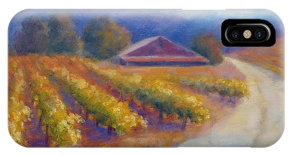 Red Barn Vineyard IPhone Case