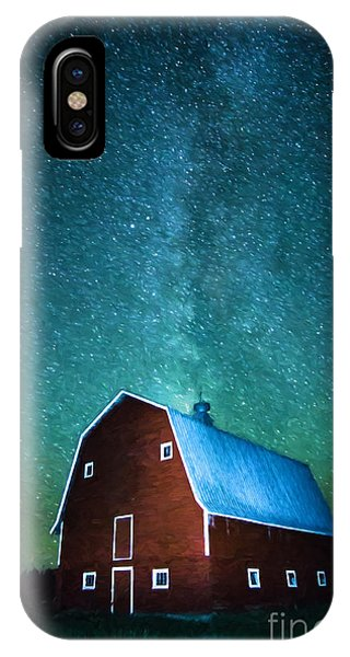 Red Beauty's Milky Way IPhone Case