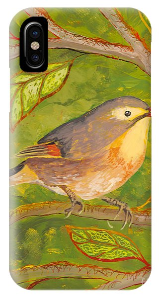 Red-billed Leiothrix IPhone Case