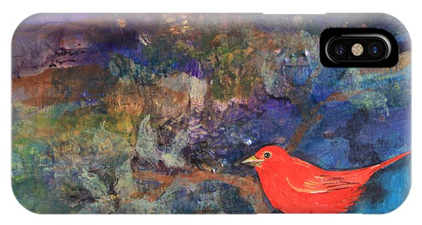 Red Bird IPhone Case