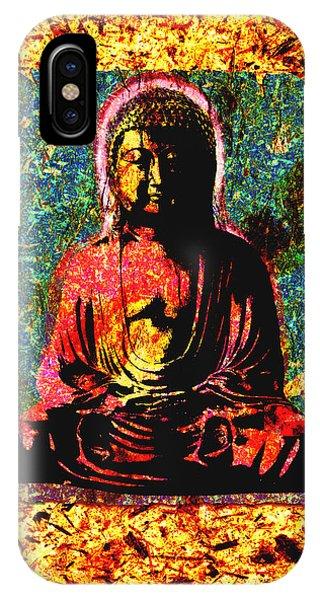Red Buddha IPhone Case