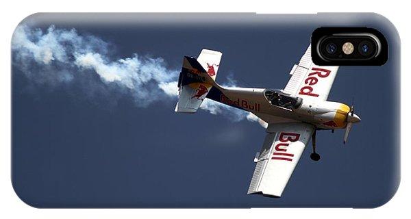Red Bull - Aerobatic Flight IPhone Case