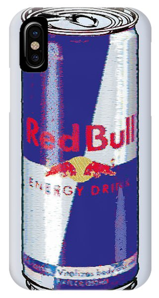 Red Bull Ode To Andy Warhol IPhone Case