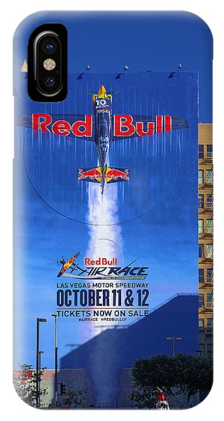 Red Bull On Olympic  IPhone Case