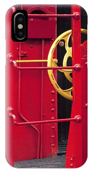 Red Caboose iPhone Case - Red Caboose by Paul W Faust -  Impressions of Light