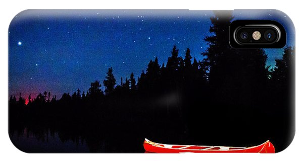 Red Canoe IPhone Case