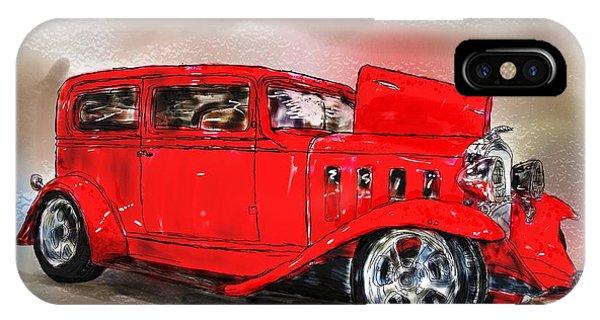 Red Car IPhone Case