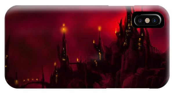 Red Castle IPhone Case