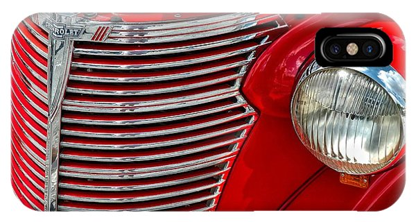 Red Chevrolet  IPhone Case