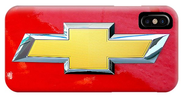 Red Chevy Bowtie IPhone Case