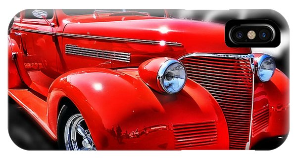 Red Chevy Hot Rod IPhone Case