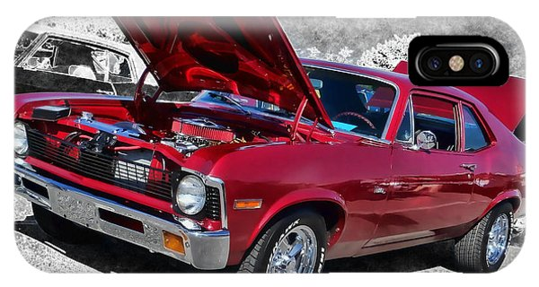 Red Chevy Nova IPhone Case