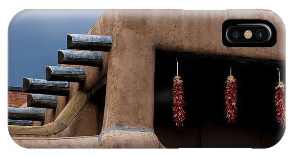 Red Chile Ristras Santa Fe IPhone Case