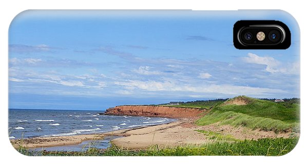 Red Cliffs Of Pei IPhone Case