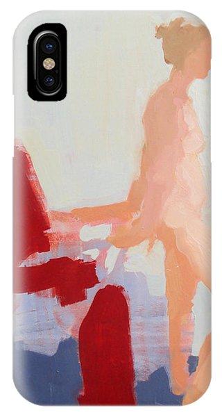 Red Cloth Phone Case by Cynthia Harvey