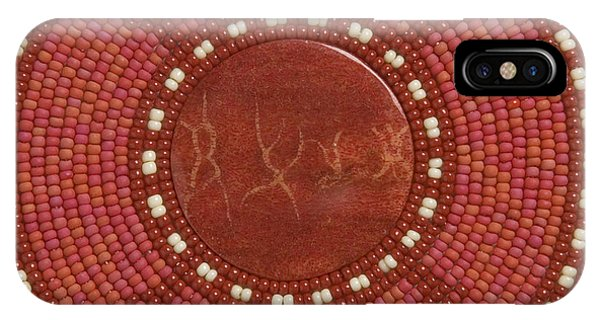 IPhone Case featuring the mixed media Red Coral by Douglas K Limon