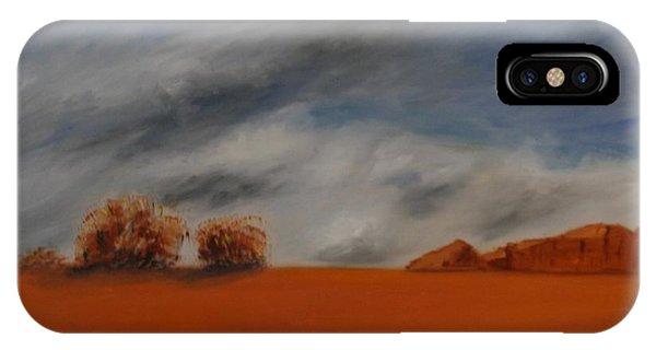 Red Desert IPhone Case