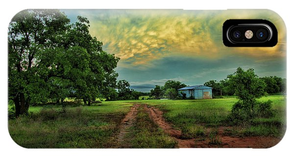 Red Dirt Road IPhone Case