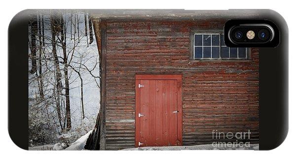 Red Door Red Barn IPhone Case