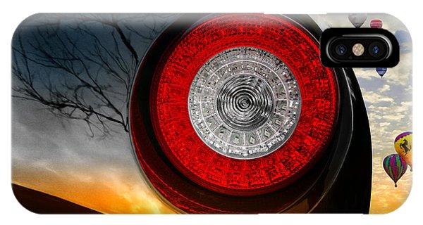 Red Eye Flight IPhone Case
