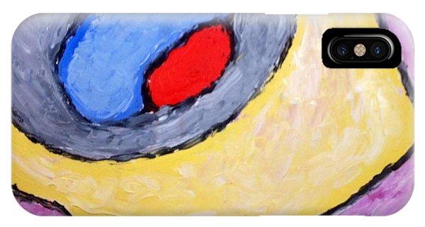 Red Eye Phone Case by Richard Fletchet