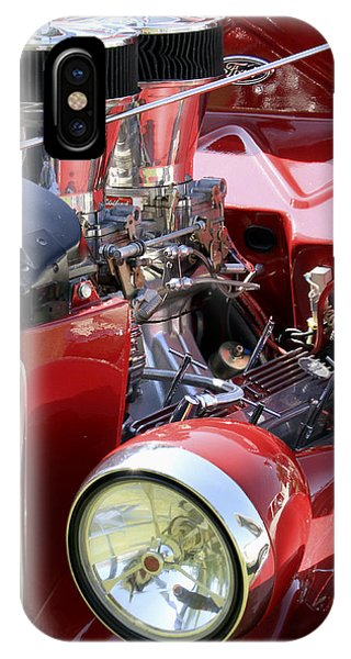 Red Ford IPhone Case