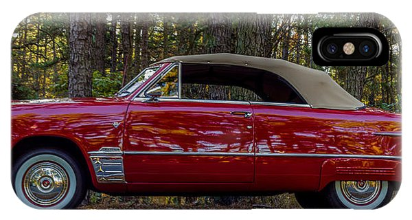 Red Ford Phone Case by Capt Gerry Hare