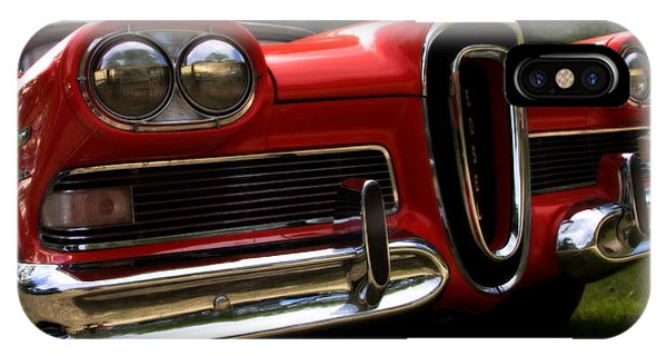 Red Ford Edsel IPhone Case