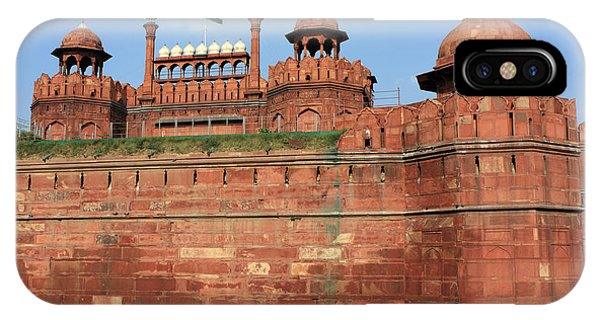Red Fort New Delhi India IPhone Case