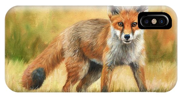 Red Fox IPhone Case