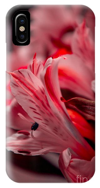 Red Freesia IPhone Case