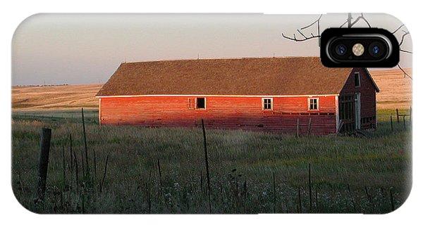 Red Granary Barn IPhone Case