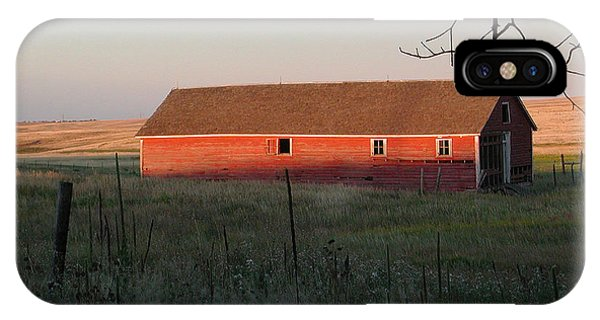 Red Granary Barn IPhone Case