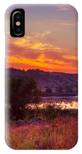 Red Grass IPhone Case