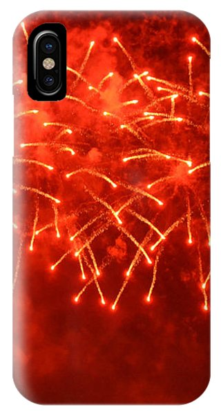 Red Hot Fireworks IPhone Case
