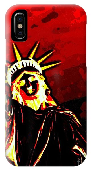 Red Hot Liberty IPhone Case