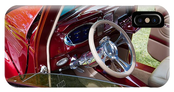 Red Hot Rod Interior IPhone Case