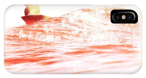 Red Hot Surfer IPhone Case