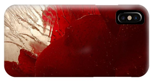 Red Ice IPhone Case