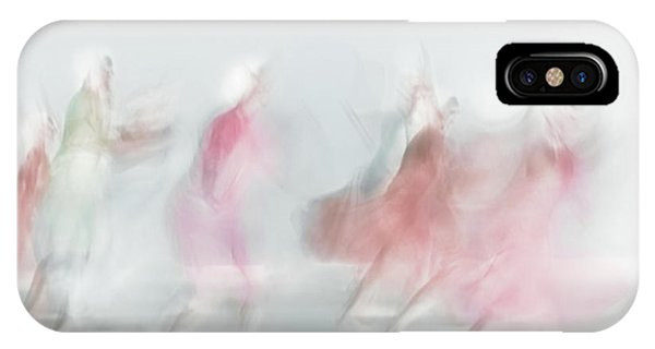 Dancing iPhone Case - Red In Light by Ali Saremi
