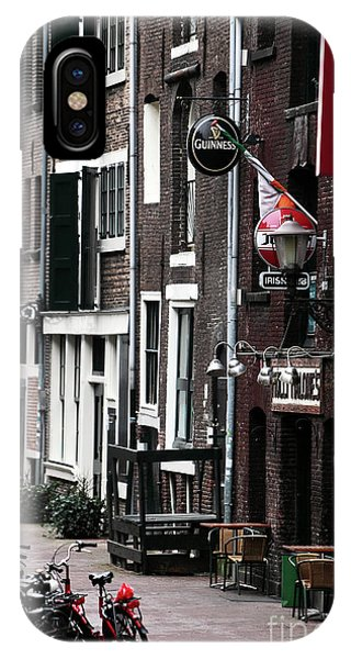 Red Light District Hotel Phone Case by John Rizzuto