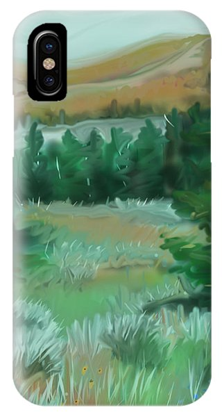 Red Lodge Montana IPhone Case