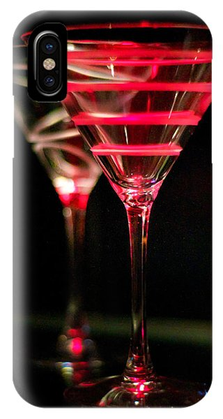 Red Martini IPhone Case