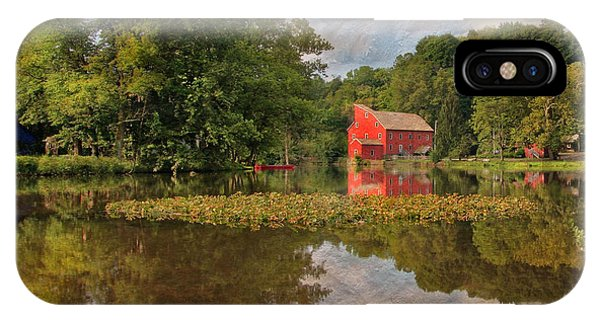 Red Mill Mural IPhone Case