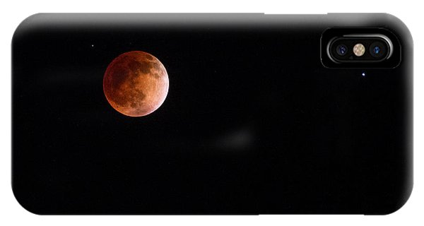 Red Moon And Spica By Denise Dube IPhone Case