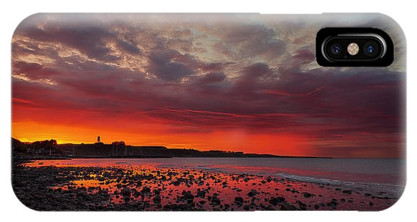 Red Morning IPhone Case
