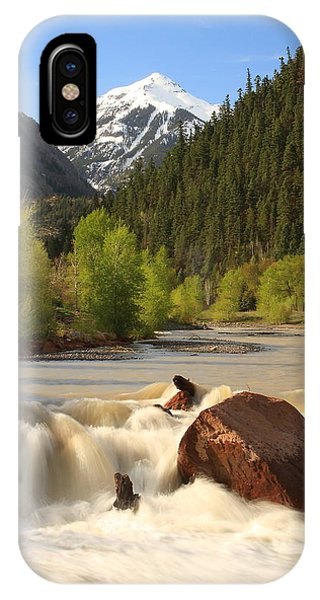 Red Mountain Snowmelt IPhone Case